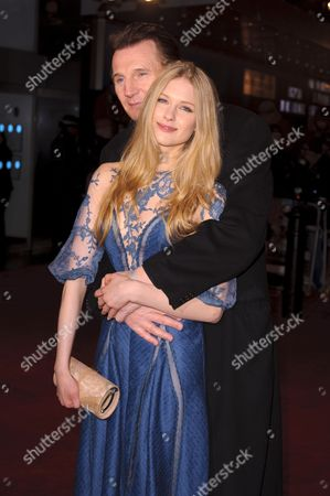 Laura Brent and Liam Neeson