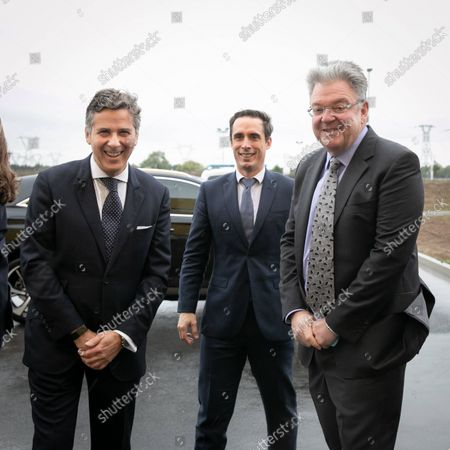 Editorial picture of DHL Express's new platform (HUB) inauguration in Paris-Charles de Gaulle, Paris, France - 05 Oct 2021