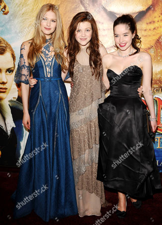 Laura Brent, Anna Popplewell and Georgie Henley