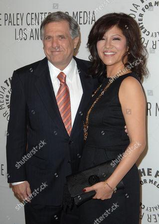 Les Moonves & Julie Chen