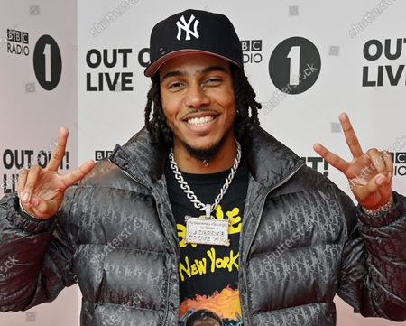 Stock Image of AJ Tracey