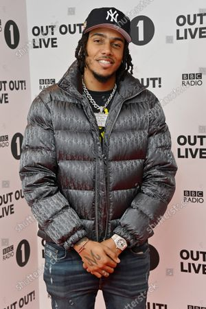 Stock Photo of AJ Tracey