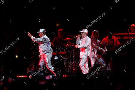 Editorial image of iHeartRadio Fiesta Latina, Show, Orlando, Florida, USA - 16 Oct 2021
