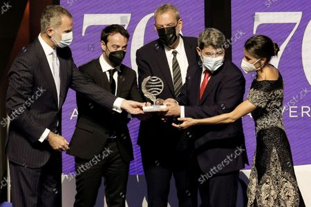 Editorial image of 70th Planeta Literary Award, Barcelona, Spain - 15 Oct 2021