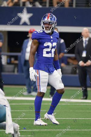 Editorial photo of Giants Cowboys Football, Arlington, United States - 10 Oct 2021