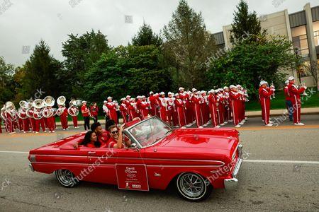 Editorial image of Indiana University Homecoming Parade in Bloomington, USA - 15 Oct 2021