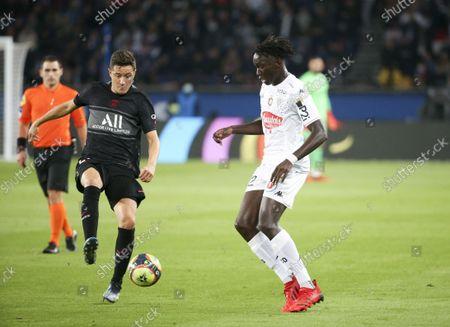 Editorial image of French football Ligue 1 match Paris Saint-Germain vs SCO Angers, Paris, France - 15 Oct 2021