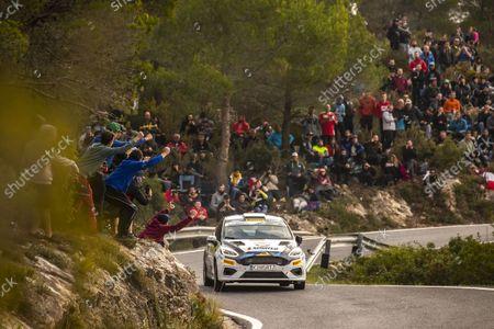 Editorial image of Rally RACC Rally Catalunya de Espana, 11th round of the 2021 FIA WRC, FIA World Rally Championship, Salou, Spain - 16 Oct 2021