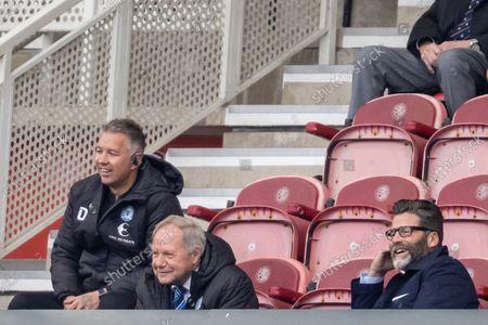 Peterborough United Manager Darren Ferguson (m) during the EFL Sky Bet Championship match between Middlesbrough and Peterborough United at the Riverside Stadium, Middlesbrough