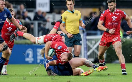 Editorial photo of United Rugby Championship, RDS, Dublin - 16 Oct 2021