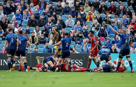Editorial image of United Rugby Championship, RDS, Dublin - 16 Oct 2021