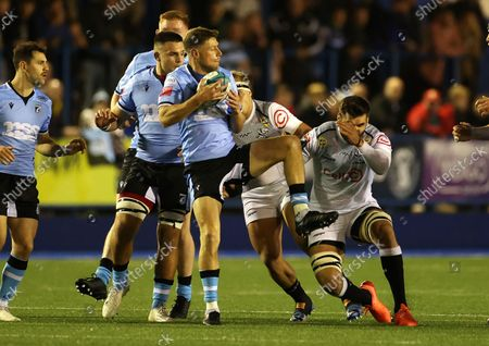 Editorial picture of Cardiff Rugby v Cell C Sharks - United Rugby Championship - 16 Oct 2021