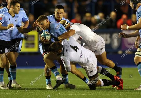 Editorial photo of Cardiff Rugby v Cell C Sharks - United Rugby Championship - 16 Oct 2021