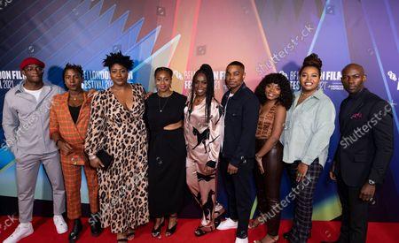 Editorial photo of 'Ear For Eye' premiere, BFI London Film Festival, UK - 16 Oct 2021