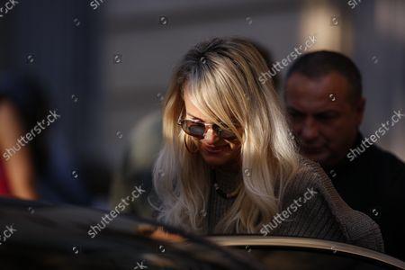 Editorial image of Laeticia Hallyday Visits Her Lawyer Ardavan Amir-Aslani In Paris, France - 09 Oct 2018
