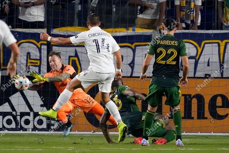Editorial image of MLS Timbers Galaxy Soccer, Carson, United States - 16 Oct 2021