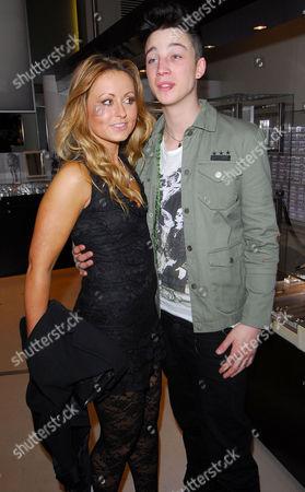 Sarah Barrand and Model Ash Stymest