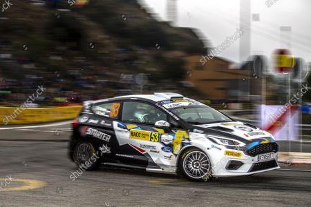 53 Virves Robert (est), Pruul Sander (est), Ford Fiesta Rally4, action
