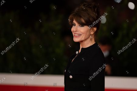 Fanny Ardant attends the red carpet of the movie Les Jeunes Amants (The Young Lovers) during the 16th Rome Film Fest 2021 on October 16, 2021 in Rome, Italy.