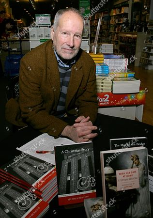 Editorial photo of Stephen Benatar 'Such Men are Dangerous' Book Signing, Reading, Berkshire, Britain - 01 Dec 2010