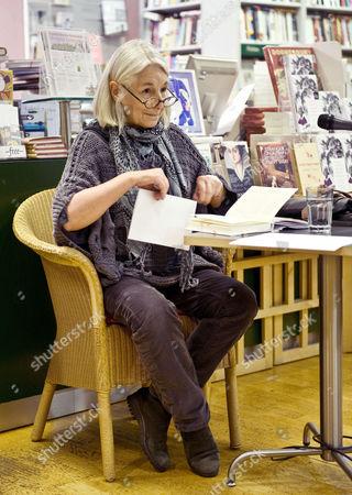 Editorial image of Jenny Diski at the LRB Bookshop, London, Britain - 30 Nov 2010