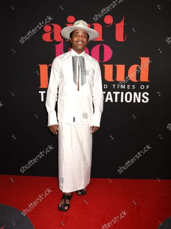 Stock Picture of James Harkness attends 'Ain't Too Proud-The Life and Times of The Temptations' Reopening Night Celebration