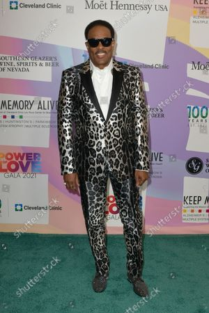 """Charlie Wilson at Keep Memory Alive's 25th Annual Power Of Love Gala honoring Smokey Robinson and Kenny """" Kenneth Babyface Edmonds """" Edmonds at Resorts World Las Vegas in Las Vegas, Nevada on October 16, 2021."""