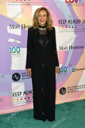 """Marilyn McCoo at Keep Memory Alive's 25th Annual Power Of Love Gala honoring Smokey Robinson and Kenny """" Kenneth Babyface Edmonds """" Edmonds at Resorts World Las Vegas in Las Vegas, Nevada on October 16, 2021."""