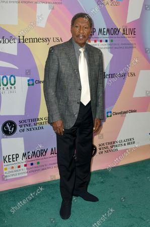 "Billy Davis Jr. at Keep Memory Alive's 25th Annual Power Of Love Gala honoring Smokey Robinson and Kenny "" Kenneth Babyface Edmonds "" Edmonds at Resorts World Las Vegas in Las Vegas, Nevada on October 16, 2021."