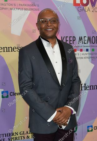 """Dr. Dylan Wint at Keep Memory Alive's 25th Annual Power Of Love Gala honoring Smokey Robinson and Kenny """" Kenneth Babyface Edmonds """" Edmonds at Resorts World Las Vegas in Las Vegas, Nevada on October 16, 2021."""