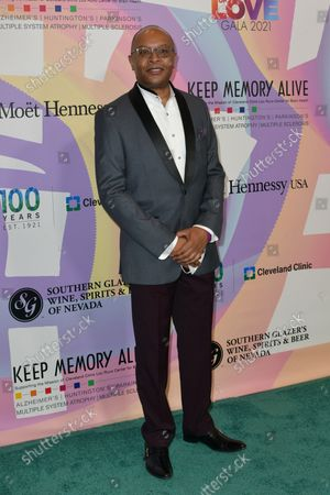 """Stock Picture of Dr. Dylan Wint at Keep Memory Alive's 25th Annual Power Of Love Gala honoring Smokey Robinson and Kenny """" Kenneth Babyface Edmonds """" Edmonds at Resorts World Las Vegas in Las Vegas, Nevada on October 16, 2021."""