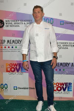 """Bobby Flay at Keep Memory Alive's 25th Annual Power Of Love Gala honoring Smokey Robinson and Kenneth """" Kenneth Babyface Edmonds """" Edmonds at Resorts World Las Vegas in Las Vegas, Nevada on October 16, 2021."""