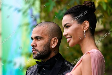 Stock Image of Brazilian soccer player Daniel Alves attends the first ever Earthshot Prize Awards Ceremony at Alexandra Palace