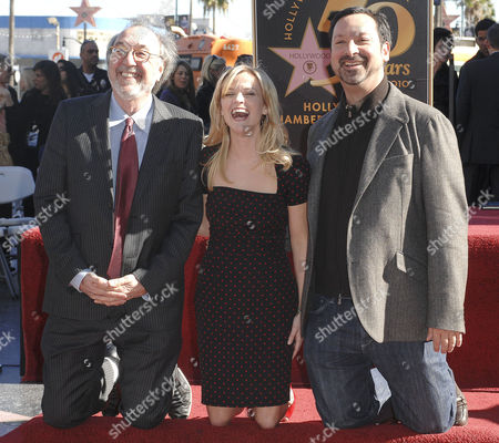 Stock Photo of James L Brooks, Reese Witherspoon and Jim Mangold