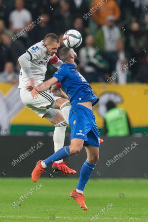 Editorial photo of Legia Warsaw v Lech Poznan - PKO Ekstraklasa, Poland - 17 Oct 2021