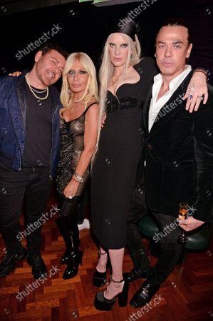 Editorial photo of Versace x Frieze event, Toklas Restaurant, London, UK - 15 Oct 2021