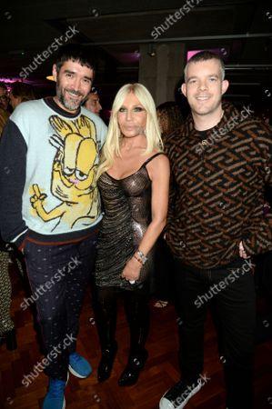 Editorial image of Versace x Frieze event, Toklas Restaurant, London, UK - 15 Oct 2021