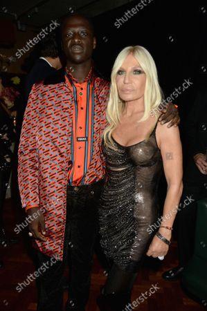 Editorial picture of Versace x Frieze event, Toklas Restaurant, London, UK - 15 Oct 2021