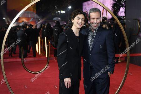 Timothee Chalamet and director Denis Villeneuve
