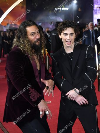 Editorial picture of 'Dune' film premiere, London, UK - 18 Oct 2021