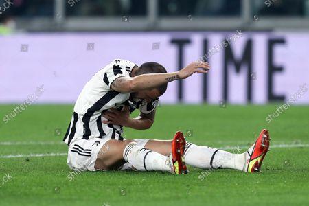 Editorial image of Juventus FC v AS Roma, Serie A, Football, Allianz Stadium, Turin, Italy - 17 Oct 2021