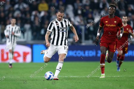 Editorial picture of Juventus FC v AS Roma, Serie A, Football, Allianz Stadium, Turin, Italy - 17 Oct 2021