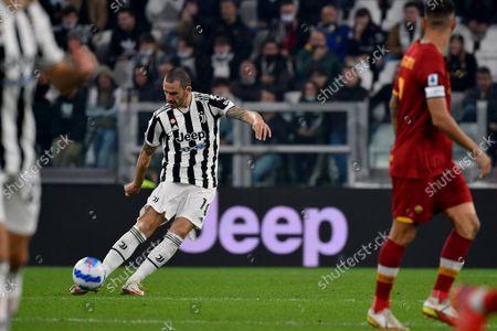 Leonardo Bonucci of Juventus FC in action