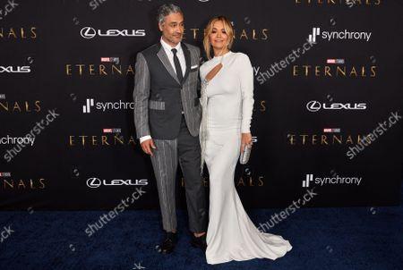Taika Waititi and Rita Ora