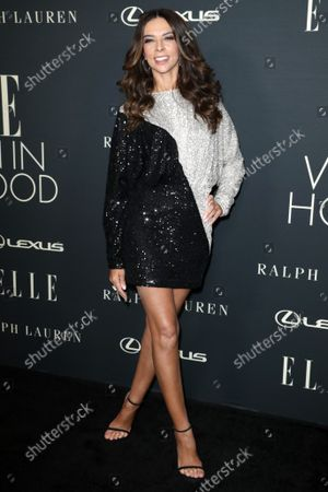 Editorial picture of 27th Annual ELLE Women in Hollywood Celebration, Arrivals, Los Angeles, California, USA - 19 Oct 2021