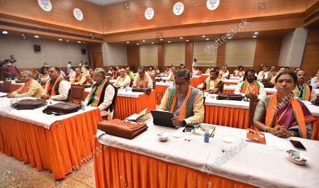 Editorial photo of BJP Office-Bearers Meet Ahead Of Assembly Polls, New Delhi, Delhi, India - 18 Oct 2021