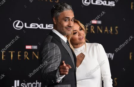 """Editorial image of Premiere of """"Eternals"""", Los Angeles, United States - 19 Oct 2021"""