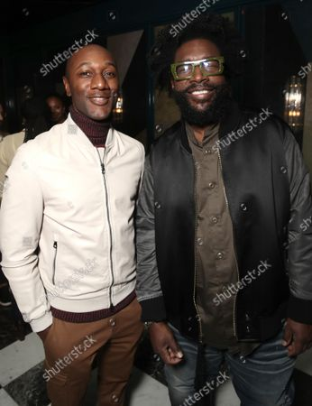 """Aloe Blacc and Director Ahmir """" Questlove """" Thompson attend a Searchlight Pictures """"Soul of Summer"""" Tastemaker Event"""""""