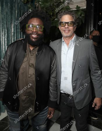 """Director Ahmir """" Questlove """" Thompson and Producer Robert Fyvolentattends a Searchlight Pictures """"Soul of Summer"""" Tastemaker Event"""""""