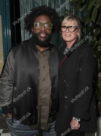 "Director Ahmir "" Questlove "" Thompson and Frida Ardottir attends a Searchlight Pictures ""Soul of Summer"" Tastemaker Event"""